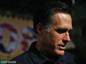 "Romney on CNN Article about ""Change Begins With Us"""