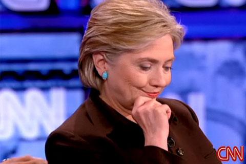 Clinton Debate Smile 2