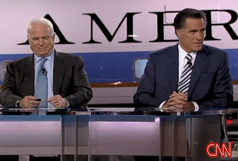 McCain Debate Smirk 1