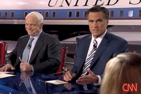 McCain Debate Smirk 2